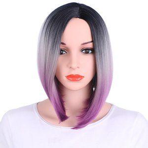 Ins Star Fashion High Temperature Silk Wig